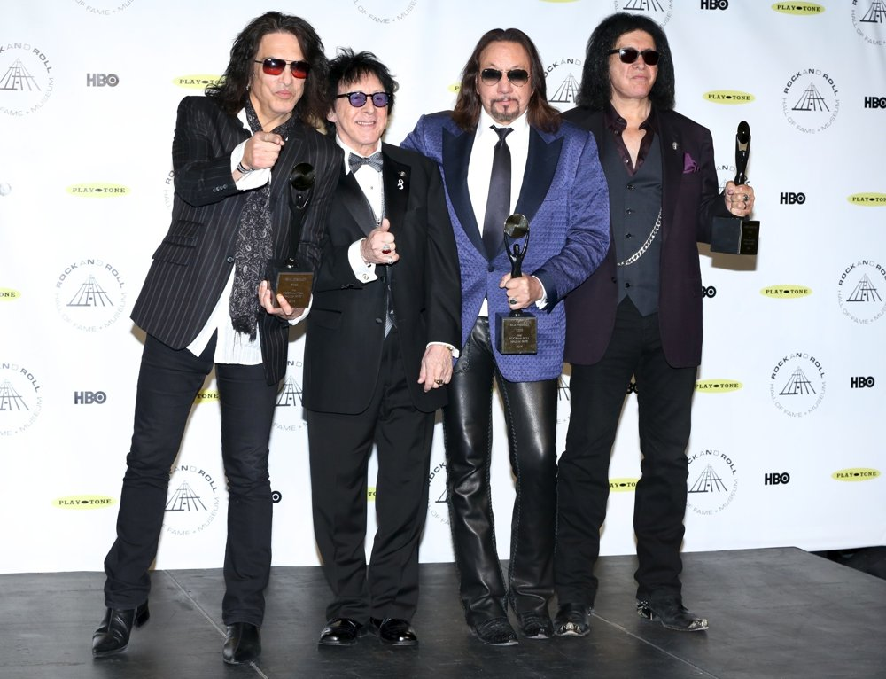Paul Stanley, Peter Criss, Ace Frehley, Gene Simmons