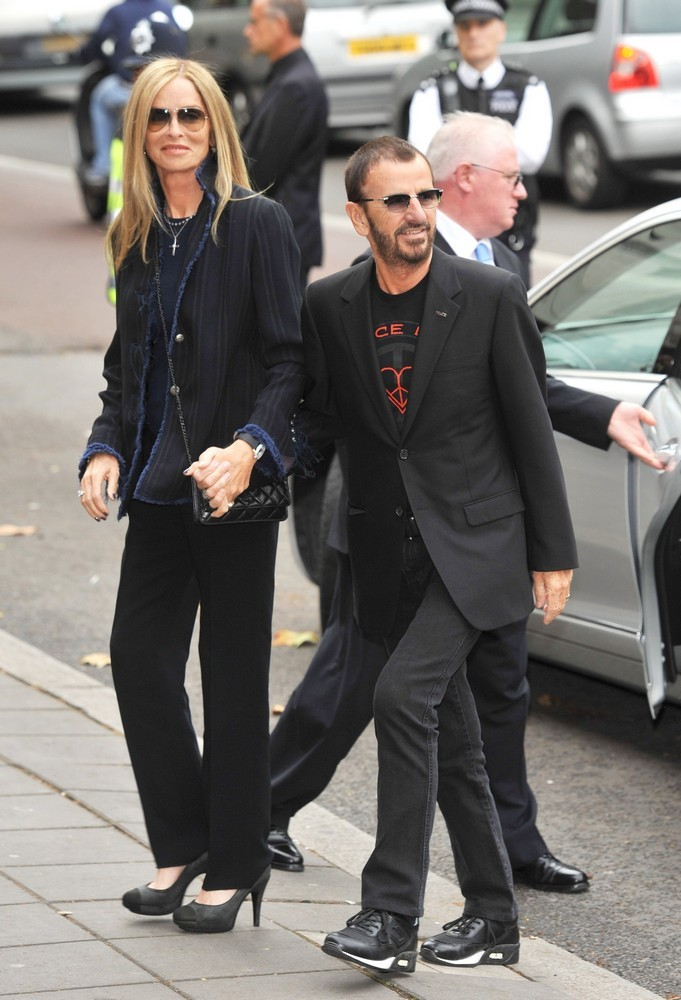 Barbara Bach, Ringo Starr<br>The Wedding of Paul McCartney and Nancy Shevell