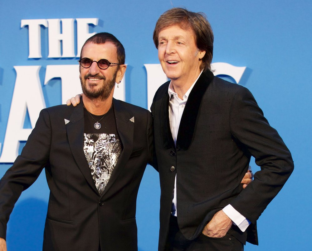 Ringo Starr, Paul McCartney<br>The Beatles Eight Days A Week World Premiere