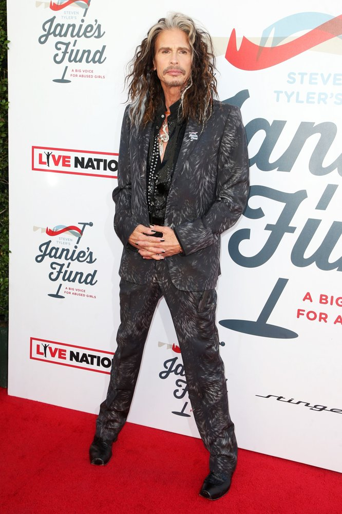 Steven Tyler<br>Inaugural Janie's Fund Gala and GRAMMY Viewing Party