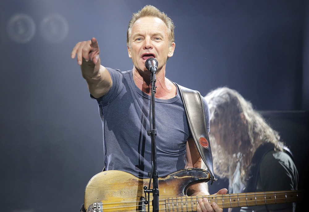 Sting<br>Sting Performing