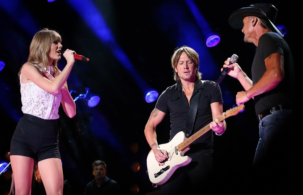 Taylor Swift, Keith Urban, Tim McGraw