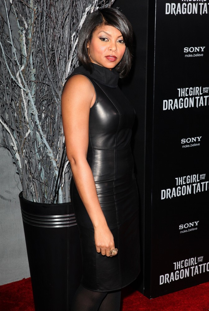 Taraji P. Henson<br>New York Premiere of The Girl with the Dragon Tattoo - Arrivals