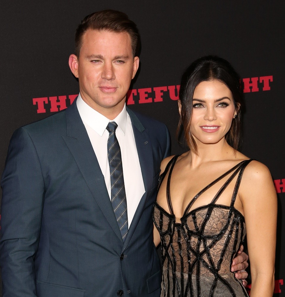 Channing Tatum, Jenna Dewan<br>Premiere of The Weinstein Company's The Hateful Eight - Red Carpet Arrivals
