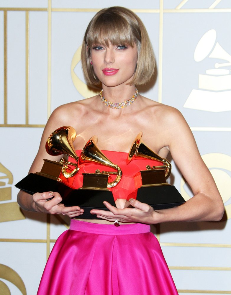 Taylor Swift<br>58th Annual GRAMMY Awards - Press Room