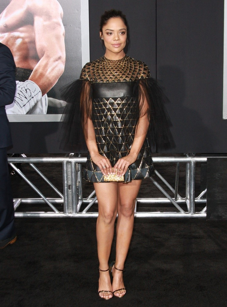 Tessa Thompson<br>Los Angeles Premiere of Creed - Arrivals