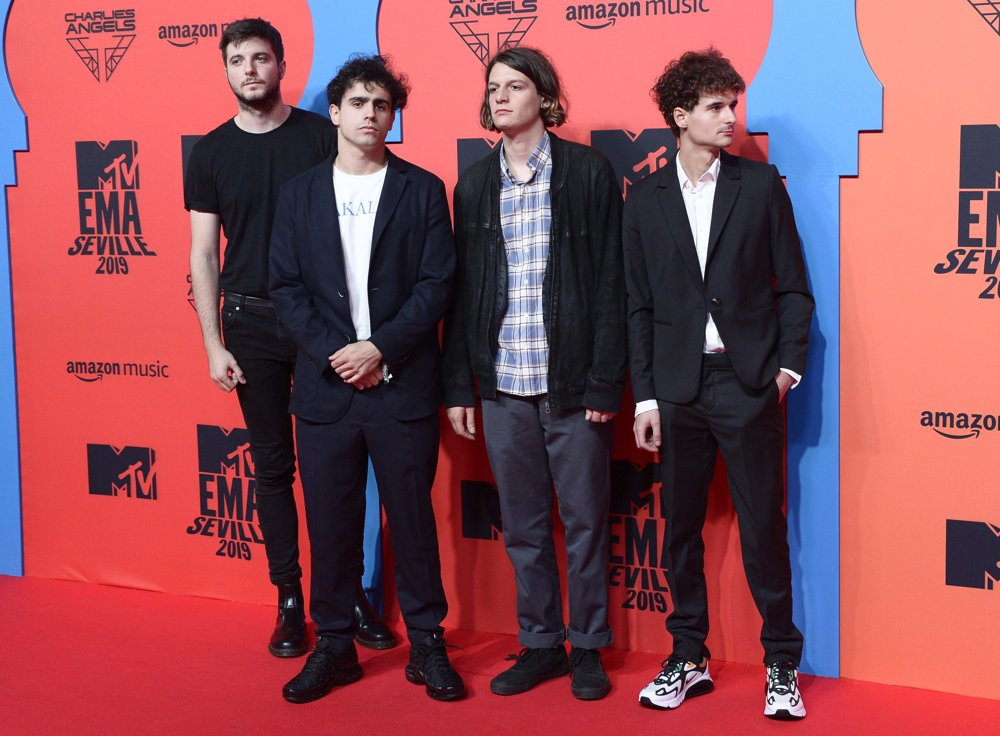 The 1975<br>2019 MTV Europe Music Awards - Arrivals