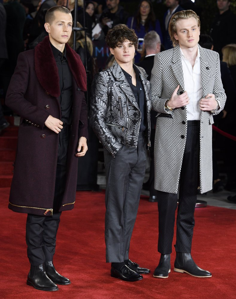 The Vamps<br>Murder on the Orient Express World Premiere - Arrivals