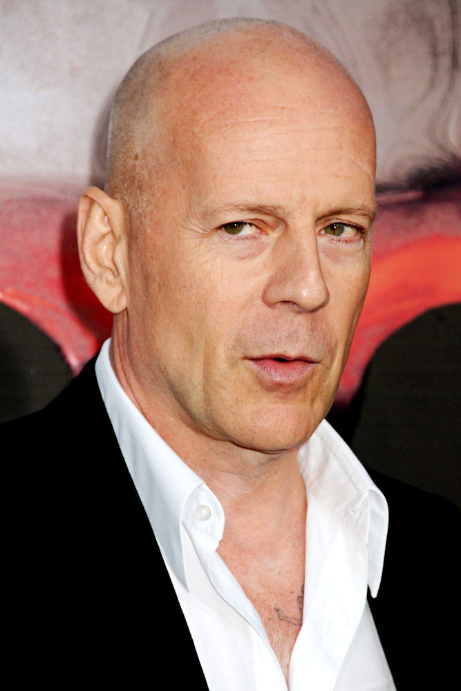Bruce Willis. Los Angeles Premiere of 'The Expendables'