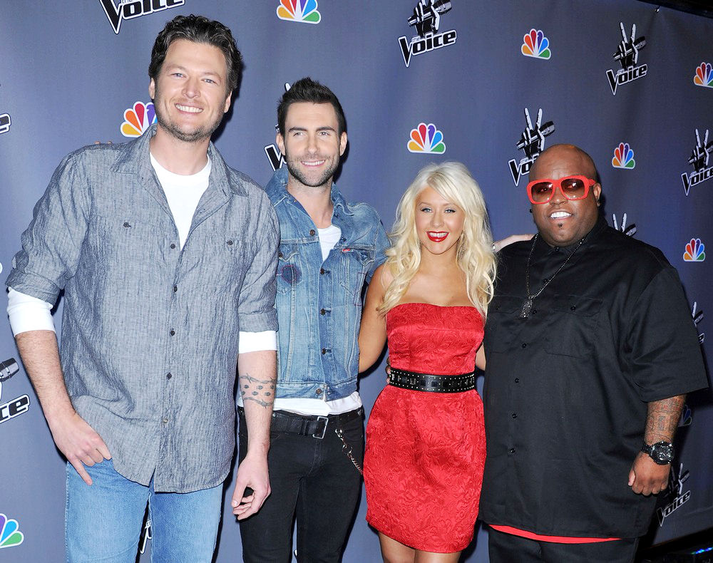 NBC Press Junket for 'The Voice'
