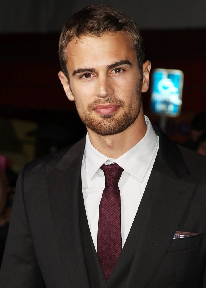 Theo James<br>Premiere of Summit Entertainment's Divergent - Red Carpet Arrivals