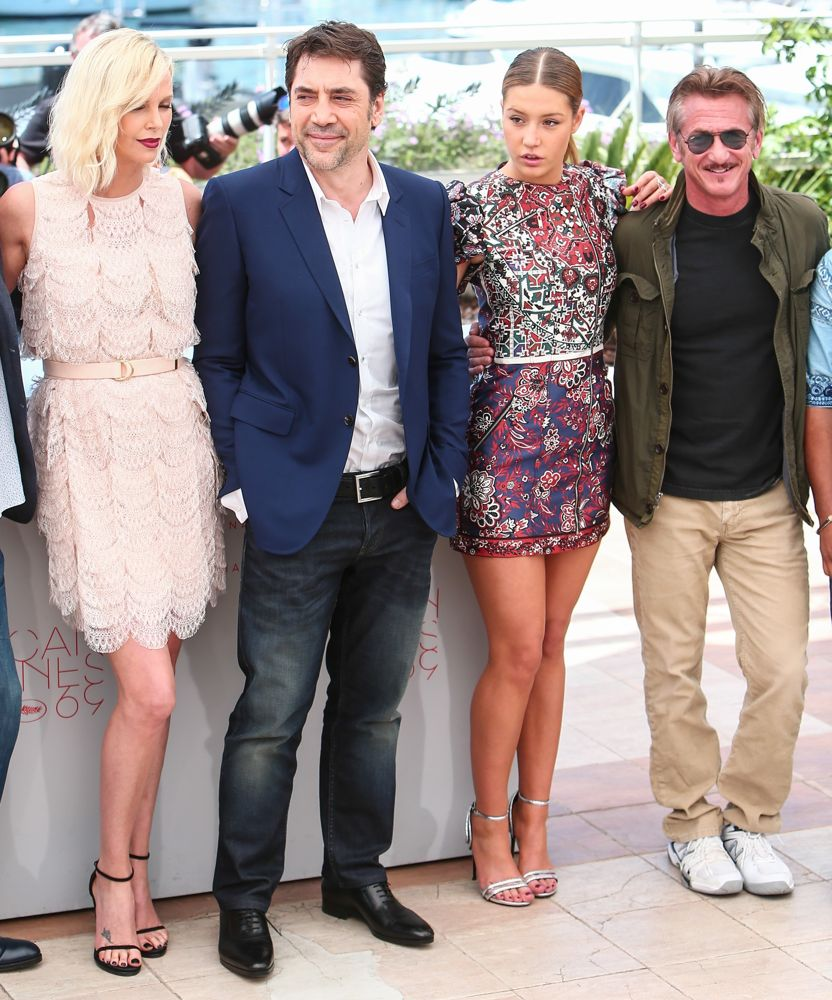 Charlize Theron, Javier Bardem, Adele Exarchopoulos, Sean Penn<br>69th Cannes Film Festival - The Last Face - Photocall