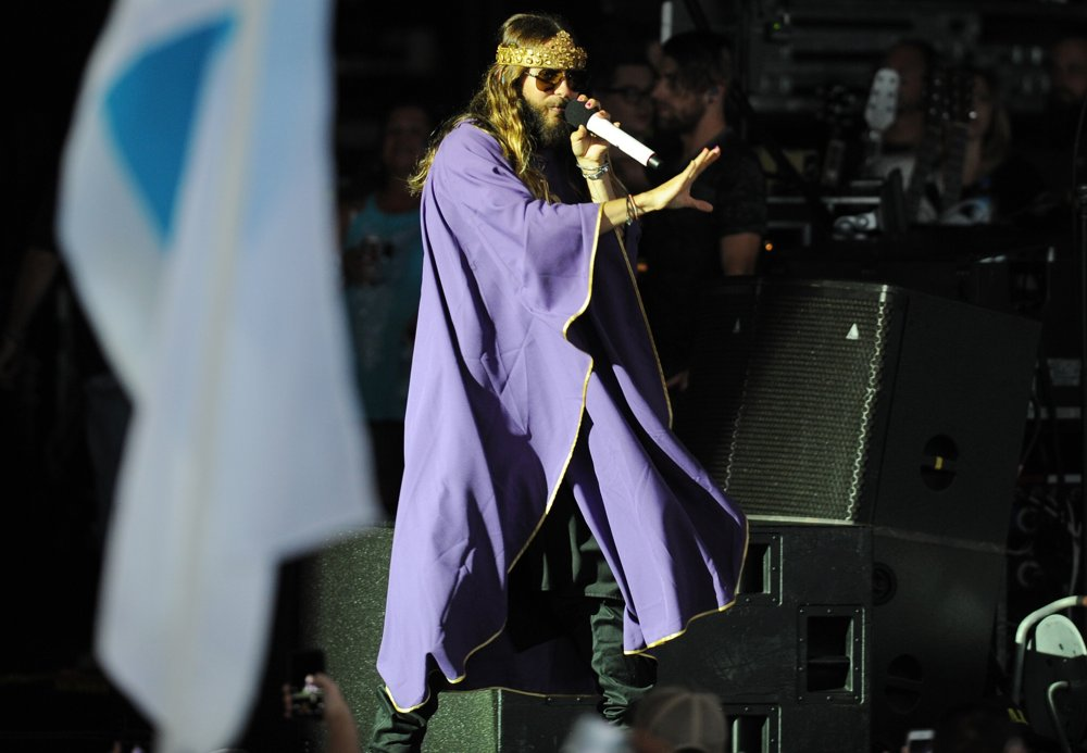 Jared Leto, 30 Seconds to Mars<br>30 Seconds to Mars Perform Live in Concert