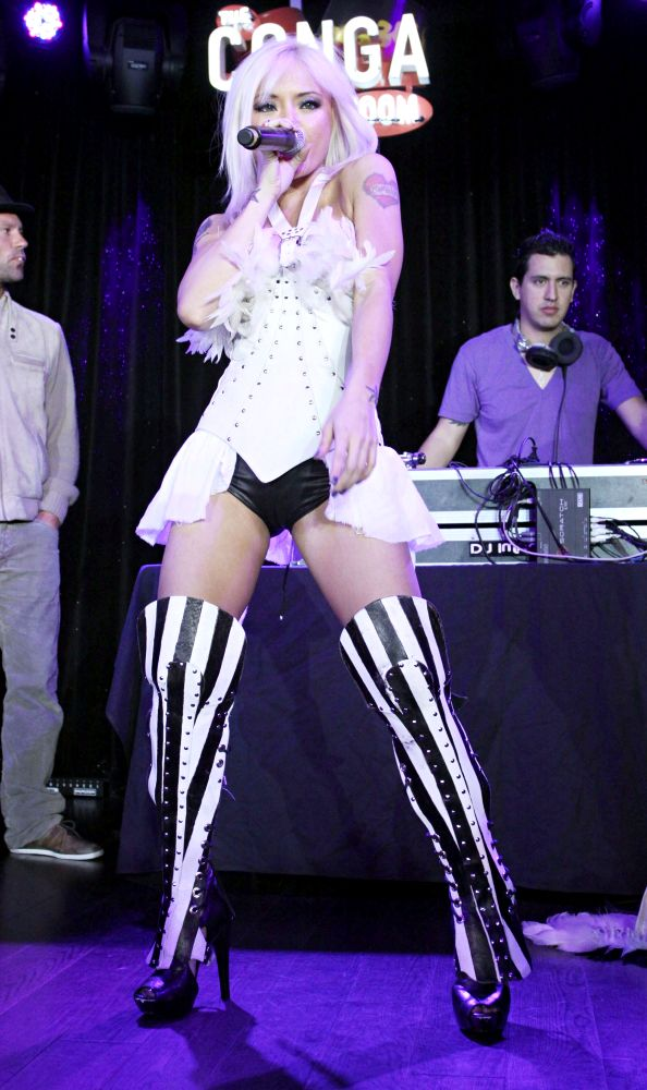 Tila Tequila<br>Tila Tequila performs at her album release launch party