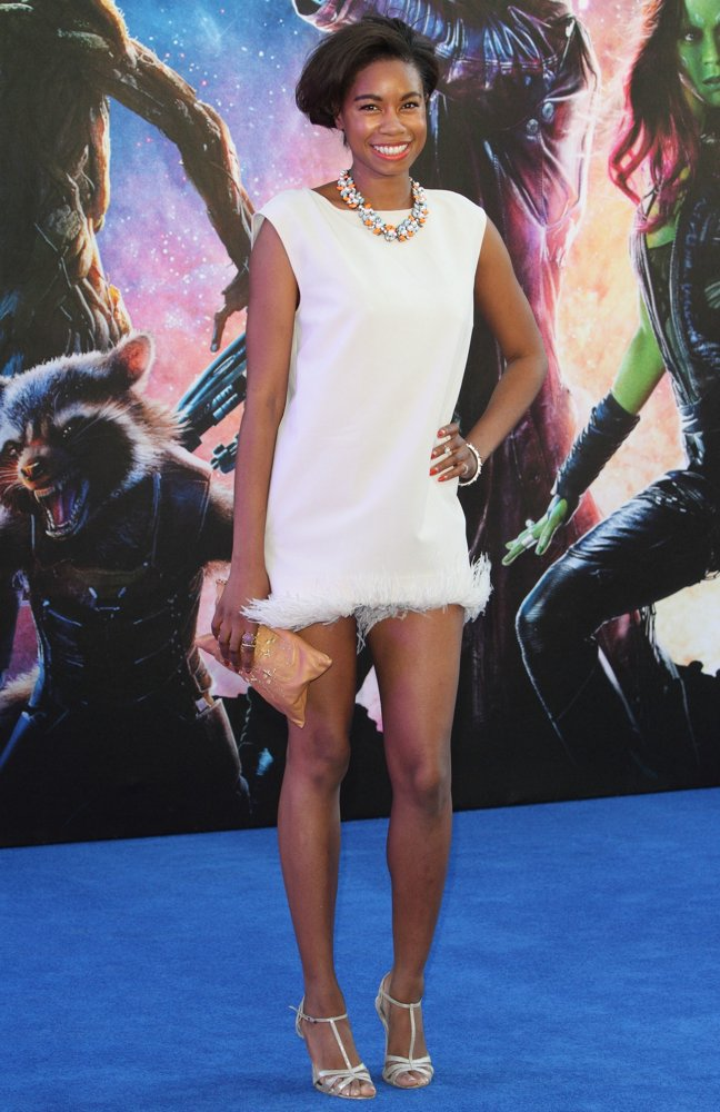 Tolula Adeyemi<br>UK Premiere of Guardians of the Galaxy - Arrivals
