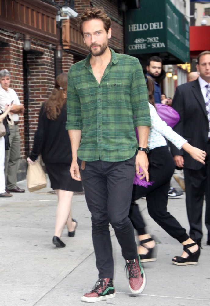 Tom Mison<br>Tom Mison Makes An Appearance on The Late Show with David Letterman