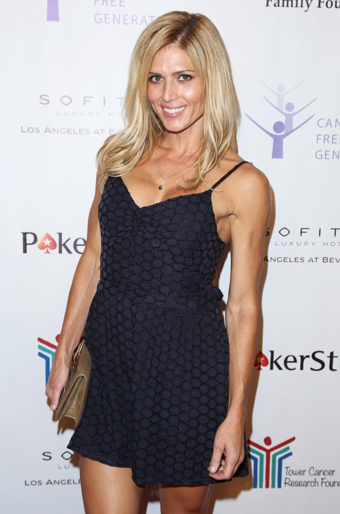 Torrie Wilson<br>Tower Cancer Research Foundation's Inaugural Cancer Free Generation Poker Tournament