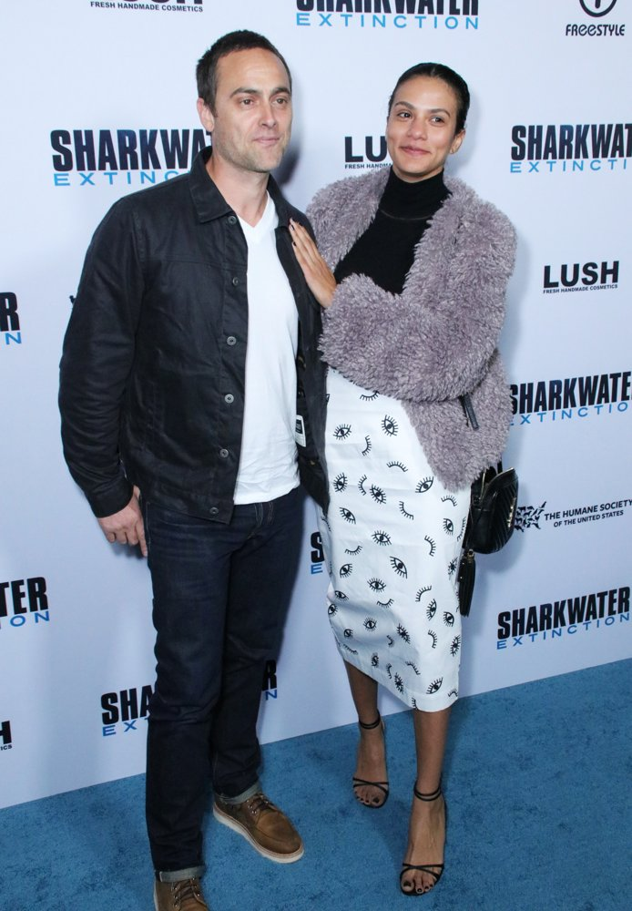 Stuart Townsend, Agatha Araya<br>Los Angeles Premiere of Sharkwater Extinction - Arrivals