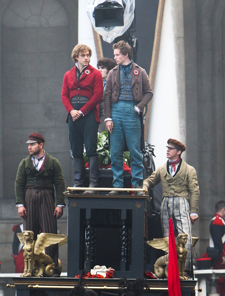 On The Set of Les Miserables