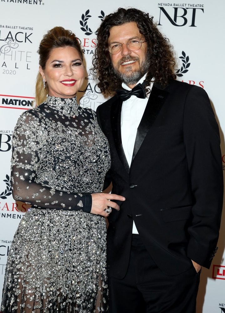 Shania Twain, Frederic Thiebaud<br>Nevada Ballet Theatre Black and White Ball 2020