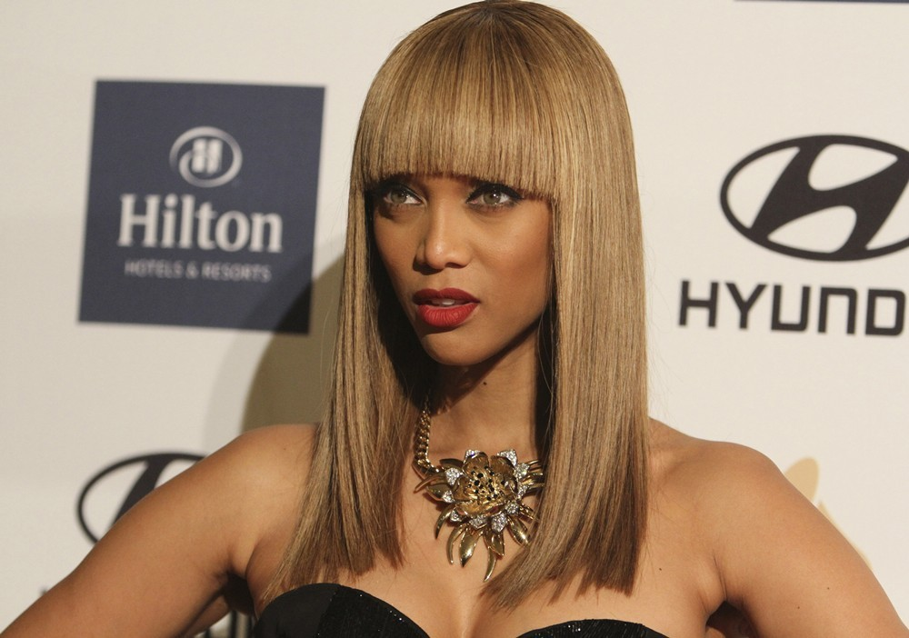 Tyra Banks<br>Clive Davis and The Recording Academy's 2013 Pre-Grammy Gala and Salute to Industry Icons