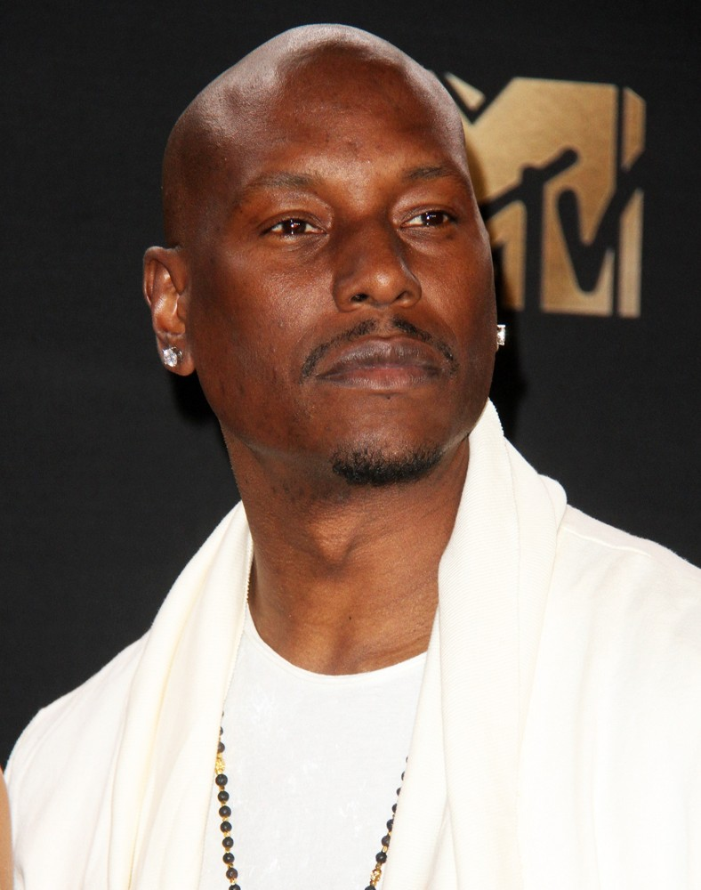Tyrese Gibson<br>2017 MTV Movie and TV Awards - Press Room