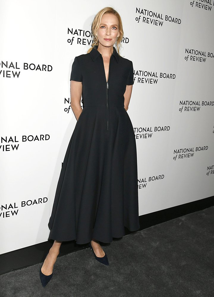 Uma Thurman<br>2020 National Board of Review Awards Gala - Arrivals
