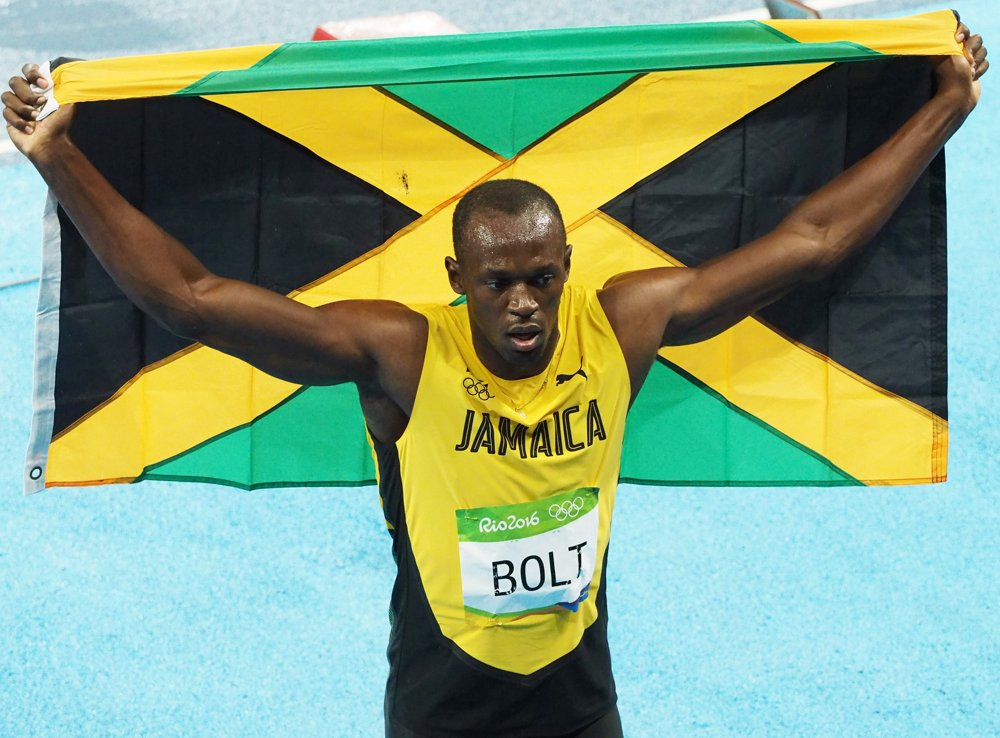 Usain Bolt<br>Men's 200m Final at 2016 Rio Olympics