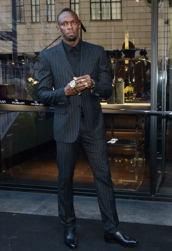 Usain Bolt<br>Hublot Fifth Avenue Flagship Boutique Store Opening