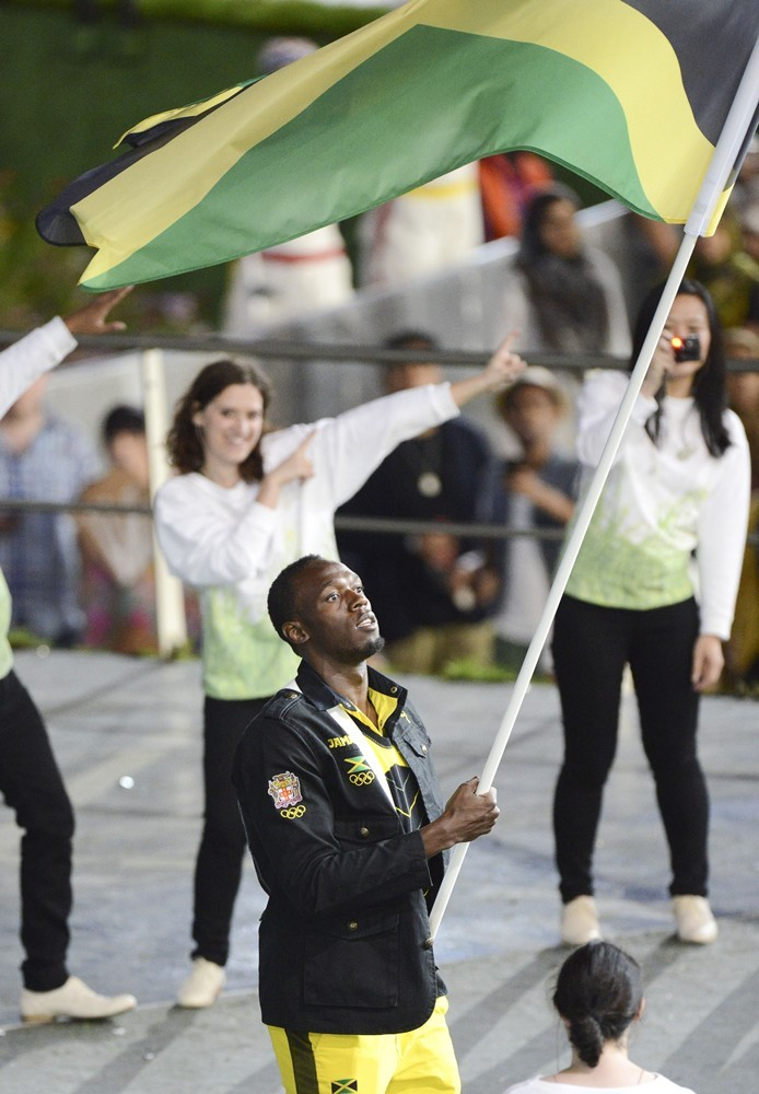 Usain Bolt<br>The Opening Ceremony of The London 2012 Olympic Games