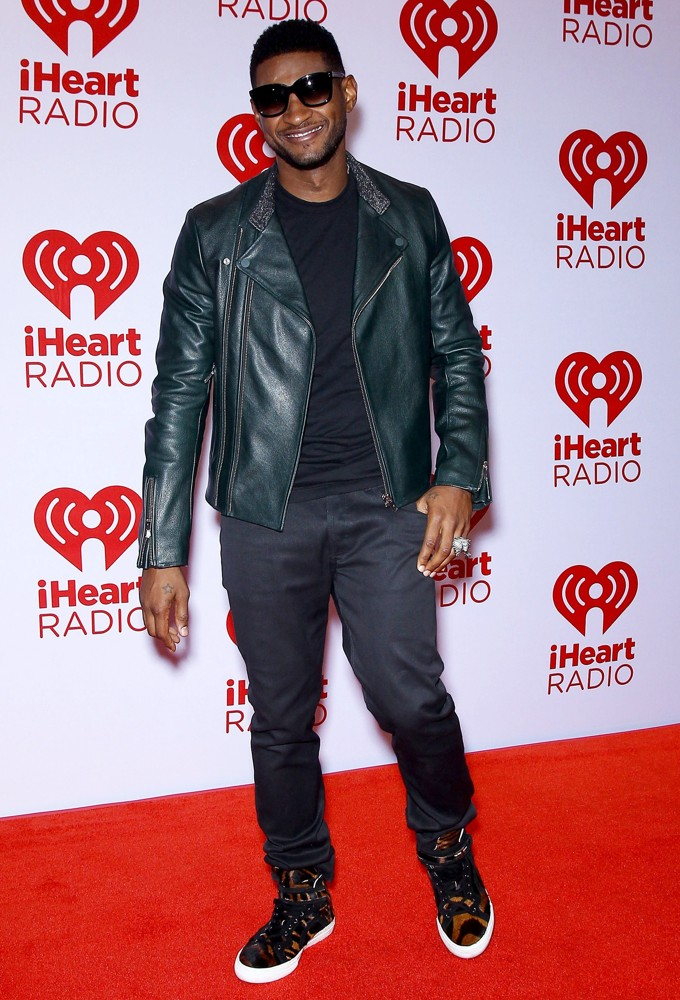 Usher<br>2012 iHeartRadio Music Festival - Day 1 - Arrivals