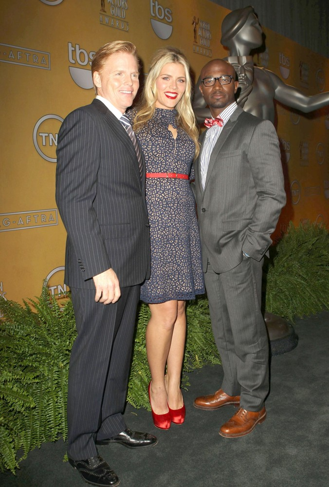 Ned Vaughn, Busy Philipps, Taye Diggs<br>19th Annual Screen Actors Guild Awards Nominations Announcement