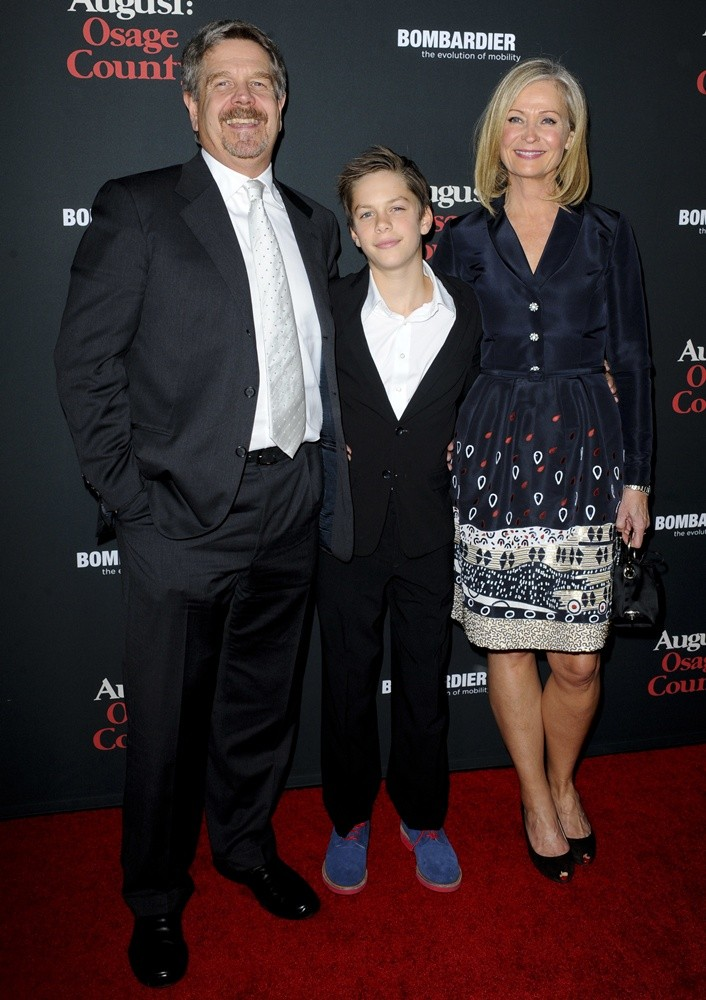 John Wells, Marilyn Wells<br>The Weinstein Company Presents The LA Premiere of August: Osage County
