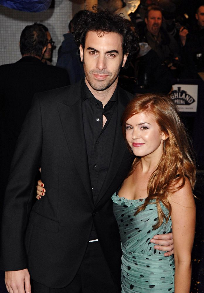 Isla Fisher and Sacha Baron  Sacha Baron Cohen Isla Fisher