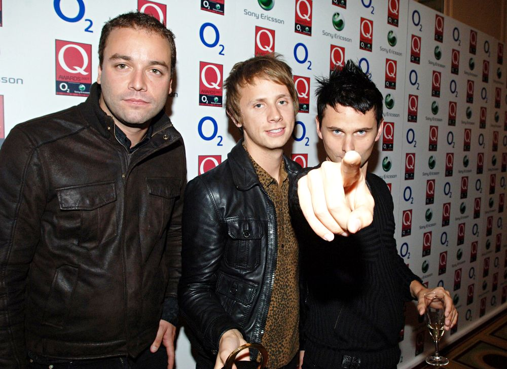 Muse<br>The Q Awards - Press Room