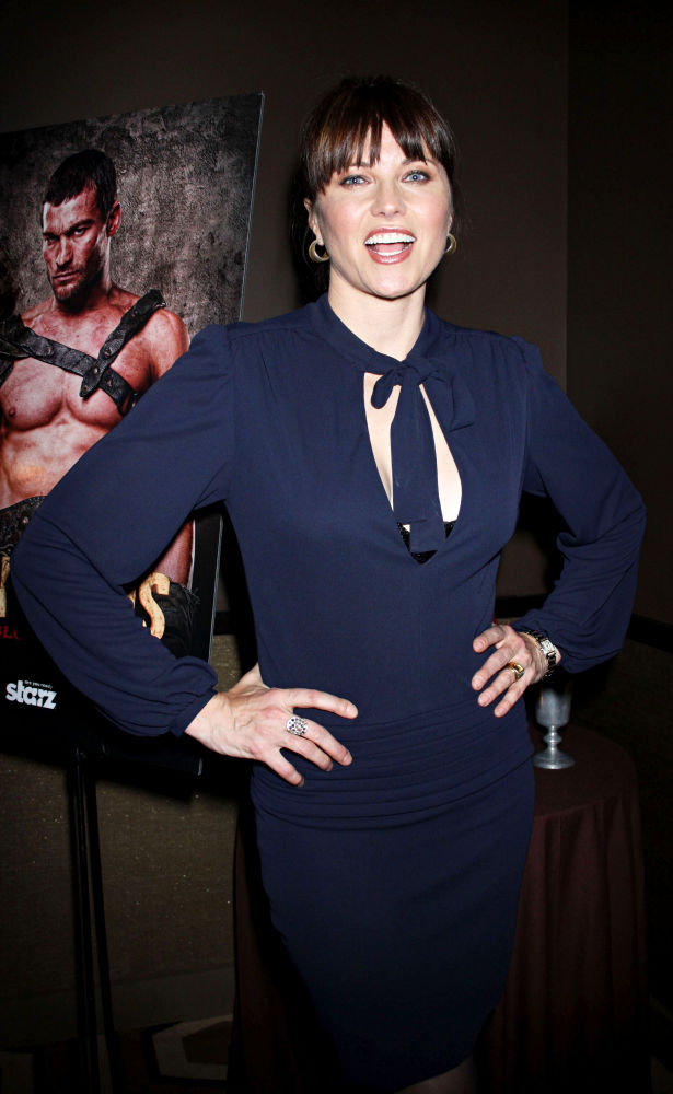 Lucy Lawless<br>The New York premiere of 'Spartacus: Blood and Sand'