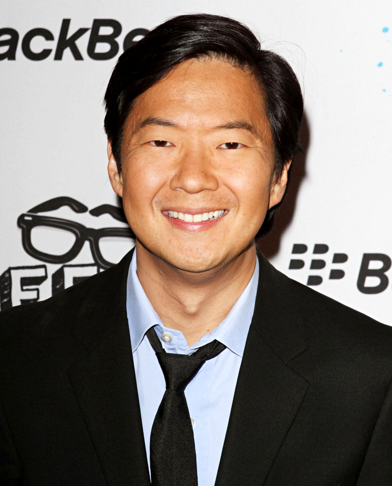 The 48-year old son of father D.K. Jeong and mother Young Jeong, 166 cm tall Ken Jeong in 2018 photo