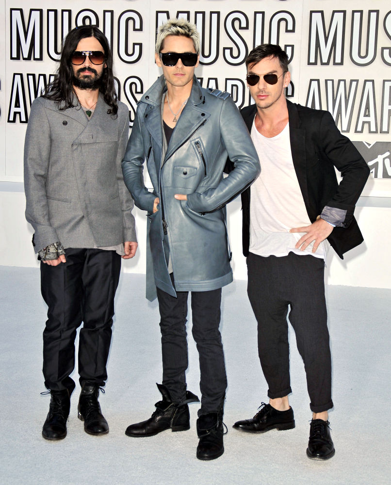30 Seconds to Mars<br>The 2010 MTV Video Music Awards (MTV VMAs) - Arrivals