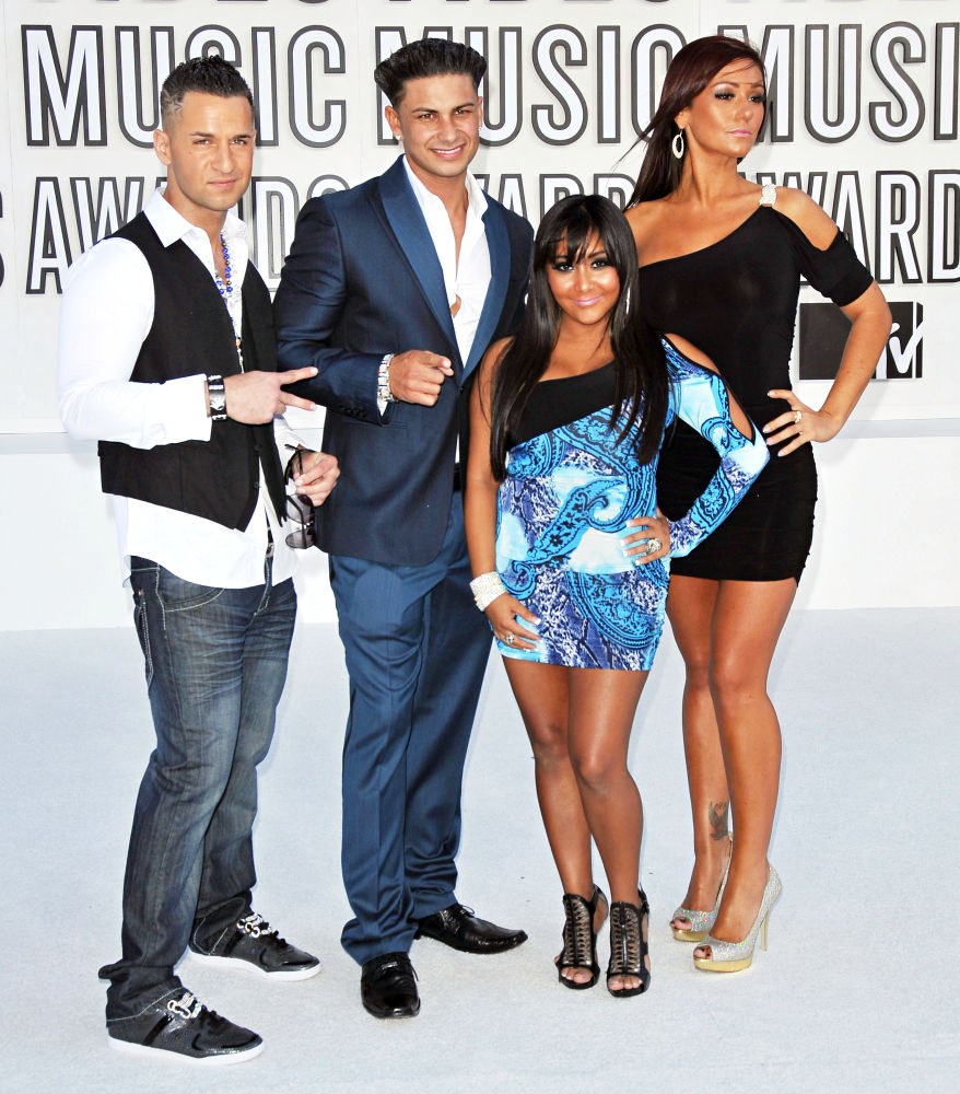 The Situation, DJ Pauly D, Snooki, JWoww<br>The 2010 MTV Video Music Awards (MTV VMAs) - Arrivals
