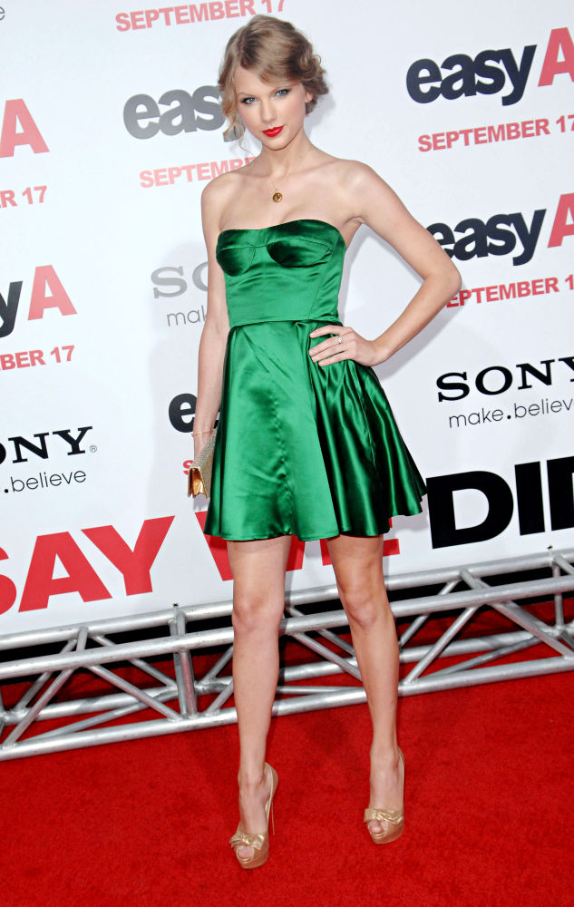 Taylor Swift<br>Los Angeles Premiere of 'Easy A'