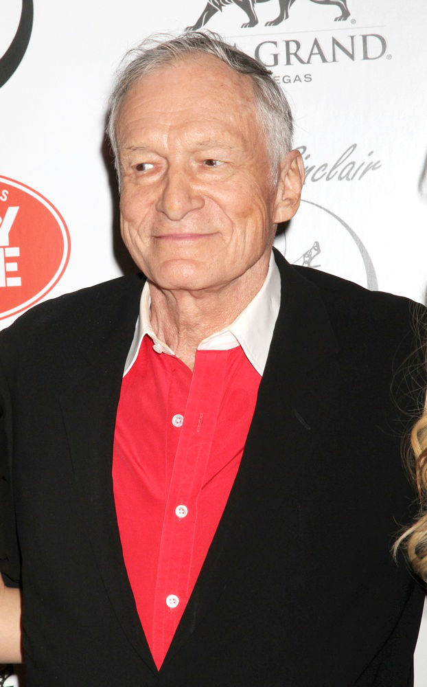 Hugh Hefner<br>Playboy Playmate Claire Sinclair Guest Stars at The Crazy Horse Paris