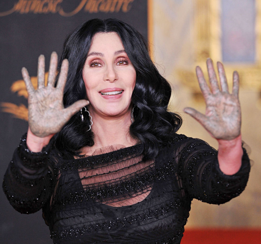 Cher<br>Cher's Hand & Footprints Ceremony