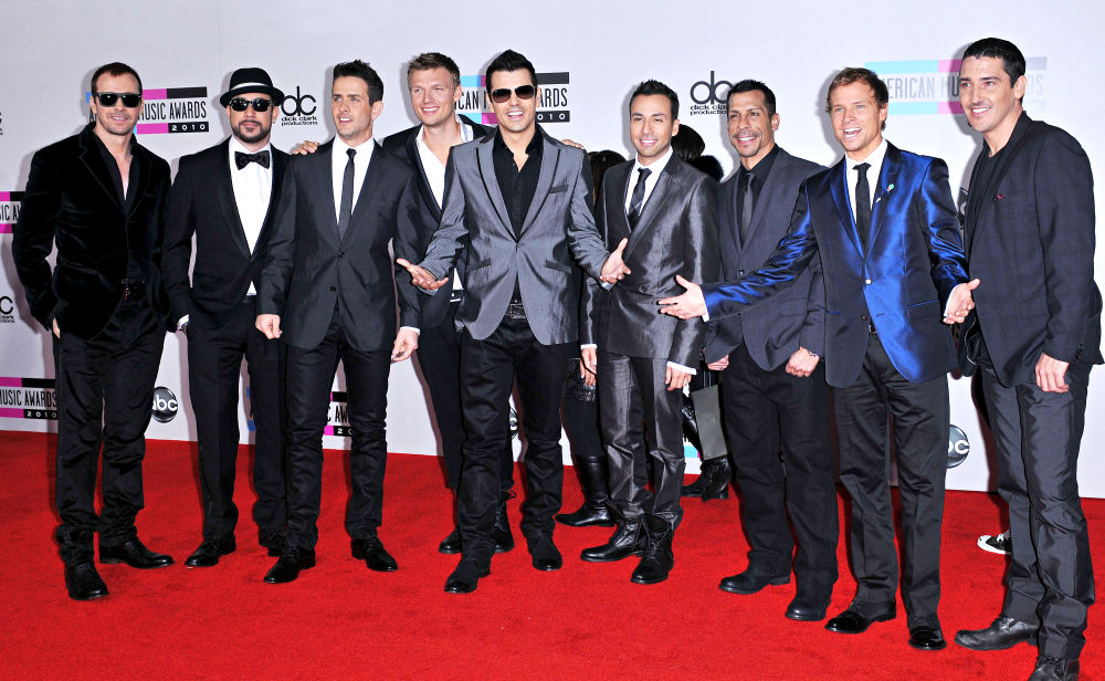 New Kids On The Block, Backstreet Boys