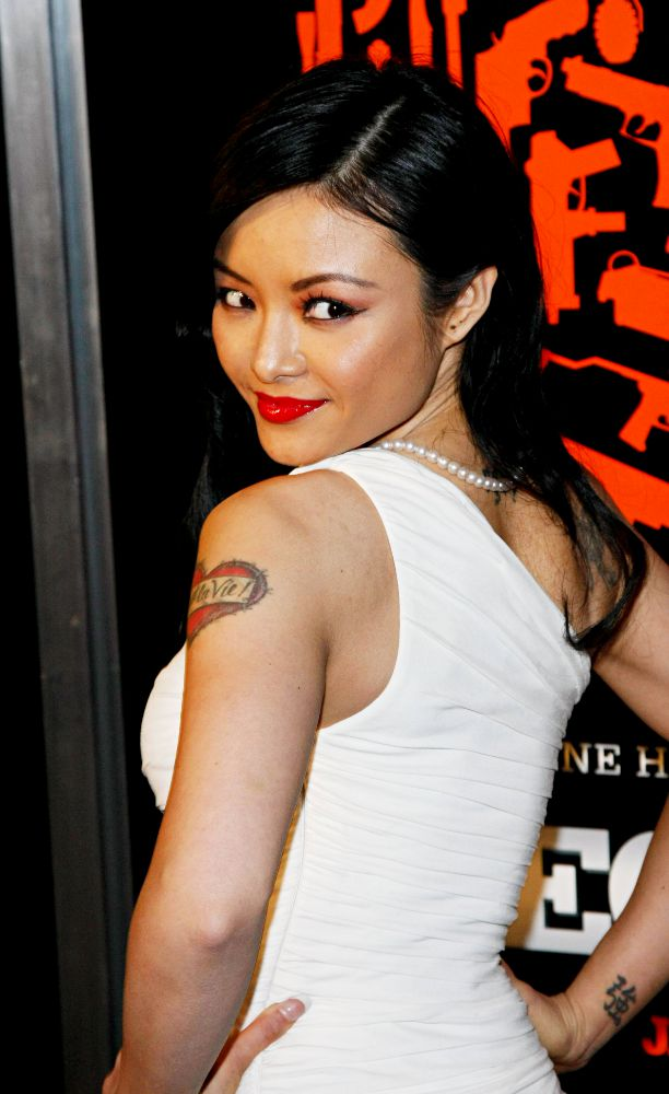 Tila Tequila<br>The Los Angeles Premiere of 'The Mechanic' - Arrivals