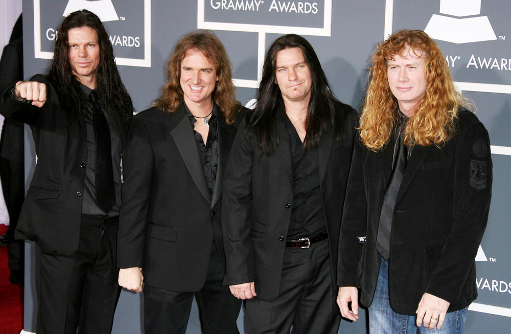 Megadeth<br>The 53rd Annual GRAMMY Awards - Red Carpet Arrivals