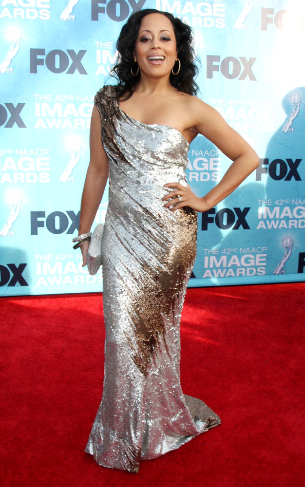 Essence Atkins<br>42nd NAACP Image Awards - Arrivals