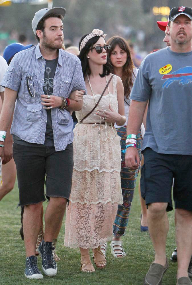 Celebrities at The 2011 Coachella Valley Music and Arts Festival - Day 2