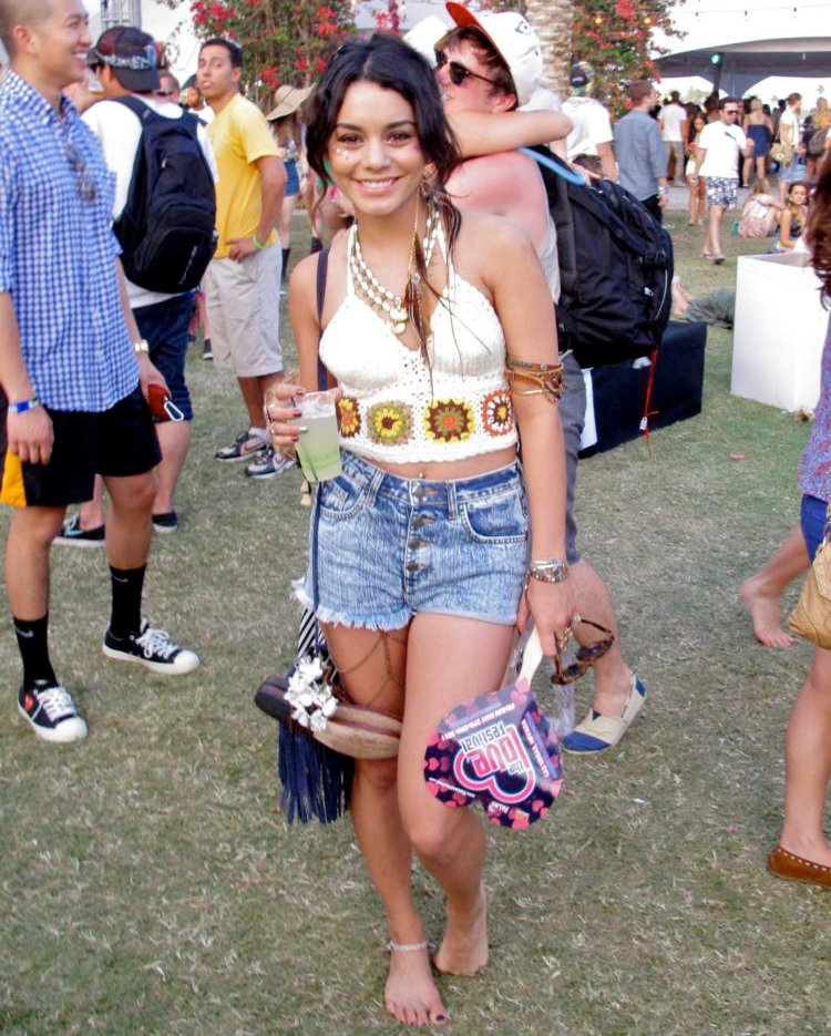 Celebrities at The 2011 Coachella Valley Music and Arts Festival - Day 3