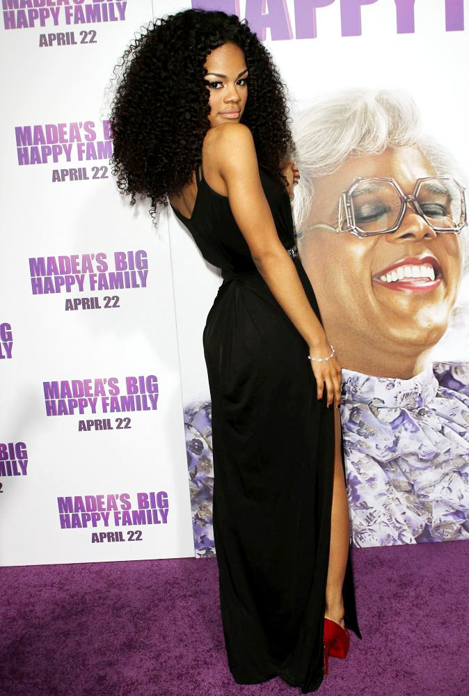 Teyana Taylor<br>Los Angeles Premiere of Tyler Perry's 'Madea's Big Happy Family'