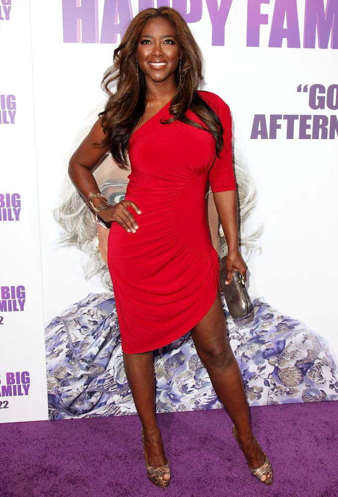 Kenya Moore<br>Los Angeles Premiere of Tyler Perry's 'Madea's Big Happy Family'